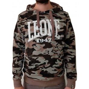 Felpa con cappuccio Leone Camouflage LSM591