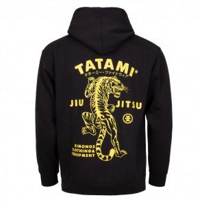 Felpa Tatami Fightwear Tiger Style con cappuccio - Dietro