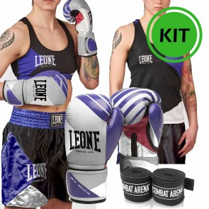 Kit Leone Fighter Life donna