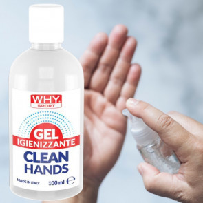 Gel igienizzante per le mani Why Sport Clean Hands 100 ml