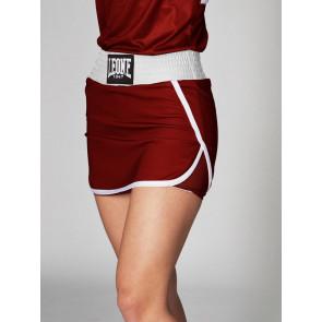Gonnellino Boxe donna Leone 1947 Match AB284 rosso