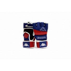 Guanti MMA Kappa Eracle 4 oz con pollice blu-rosso