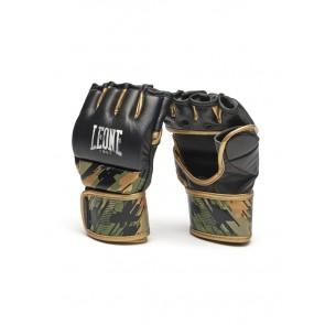 Guanti MMA Leone Neo Camo GP112 4 oz con pollice Verde
