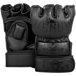 Guanti MMA 4 oz Venum Gladiator 3.0 nero-nero