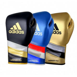 Guantoni Adidas Speed 500 Metallic con lacci