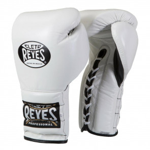 Guantoni Cleto Reyes Traditional Training CE4 Bianco con lacci