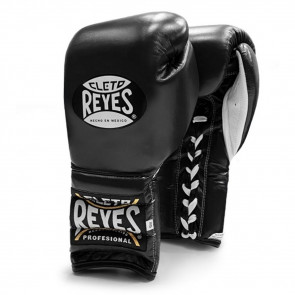 Guantoni Cleto Reyes Traditional Training Nero con lacci