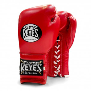Guantoni Cleto Reyes Traditional Training Rosso con lacci