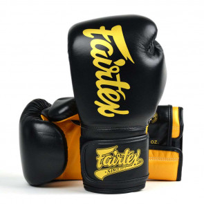 Guantoni Fairtex BGV18 Super Sparring Nero-Oro