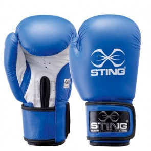 Guantoni AIBA 10 Oz Sting Competition Blu