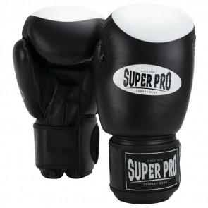 Guantoni Super Pro Boxer Nero-bianco