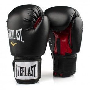 Guantoni Everlast Training in Similpelle Nero