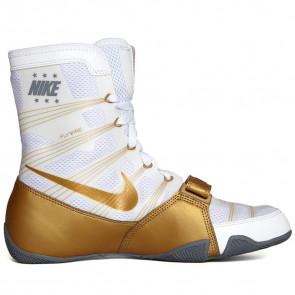 Stivaletti Boxe Nike Hyperko Bianco-Oro