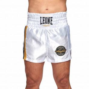 Pantaloncini da Boxe Leone Authentic AB243 Bianco