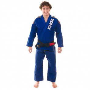 BJJ Gi Kingz Ultralight Blu vista frontale