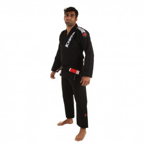BJJ Gi Kingz Ultralight Nero vista anteriore