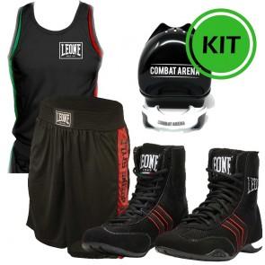 Kit Boxe Leone Hermes