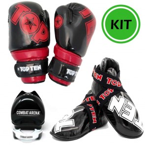 Kit Kick Boxing Semi Contact Glossy Top Ten