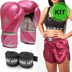 Kit donna Kick Boxing Leone Blitz