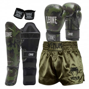 Kit kick-thai Camo Green