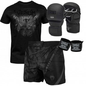 Kit MMA Black Devil