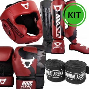 Kit Kick Boxing Red is the new black Ringhorns