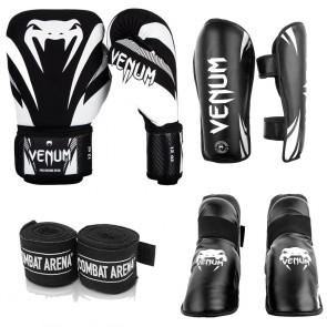 Kit Venum Kickboxing Pro Omologato FIKBMS