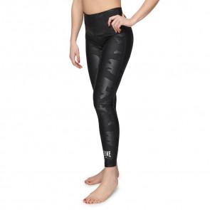 Leggings donna Leone CamoBlack ABX525 sinistra