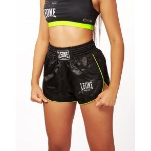 Pantaloncini Donna da thai-kick Leone Basic W AB801 Nero