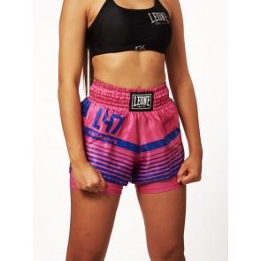 Pantaloncini Donna da thai-kick Leone L47 W AB800 Rosa