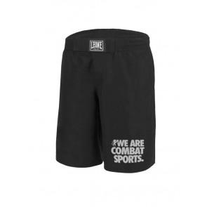Pantaloncini da MMA Leone Basic AB795 Nero