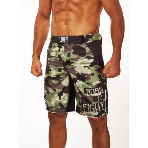 Pantaloncini da MMA Leone Camo AB792