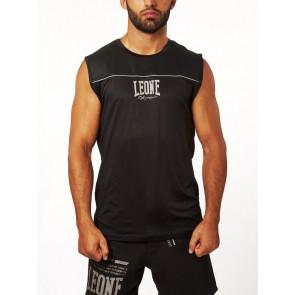 T-shirt smanicata Leone Extrema Basic-X ABX05 Nero