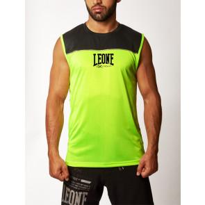 T-shirt smanicata Leone Extrema Basic-X ABX05 Giallo