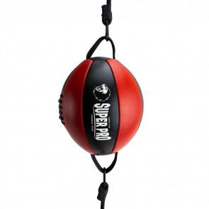 Palla tesa Super Pro rotonda Nero-rosso