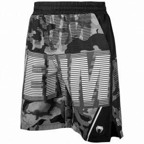 Pantaloncini da allenamento Venum Tactical nero-bianco