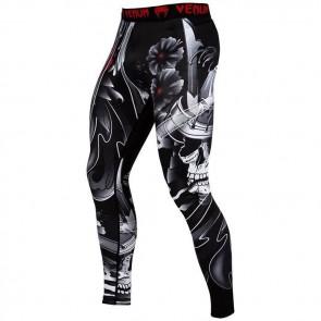 Pantaloni a compressione Venum Samurai Skull