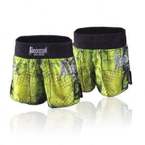 Pantaloncini da kick e thai Boxeur Des Rues Cross BXT-1620 Giallo