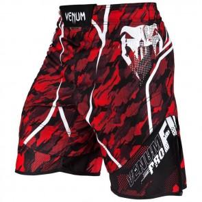 Pantaloncini da MMA Venum Tecmo Rosso