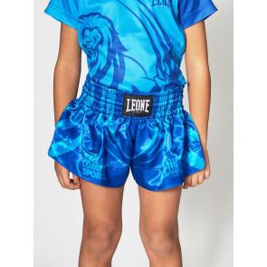Pantaloncini bambino Leone Mascot ABJ04 azzurri