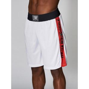 Pantaloncini da boxe Leone AB739 bianchi