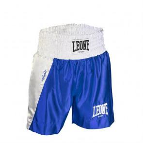 Pantaloncini da Boxe Leone Linear AB730 Blu