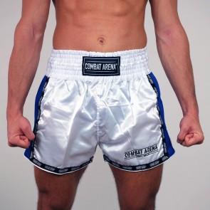 Pantaloncini Combat Arena Classic bianchi e blu