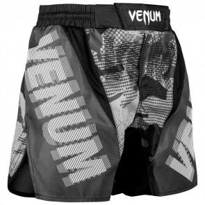 Pantaloncini da combattimento Venum Tactical nero-bianco