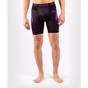 Pantaloncini a compressione Venum No-Gi 3.0 Nero-viola