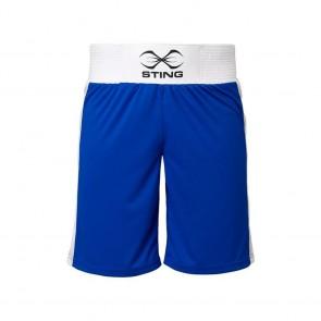 Pantaloncini da boxe Sting Mettle Blu