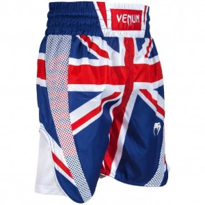 Pantaloncini da boxe Venum Elite bandiera inglese