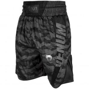 Pantaloncini da boxe Venum Elite camo-nero