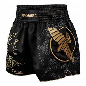 Pantaloncini Hayabusa Falcon Muay Thai nero davanti