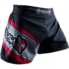 Pantaloncini da kick boxing Hayabusa Nero